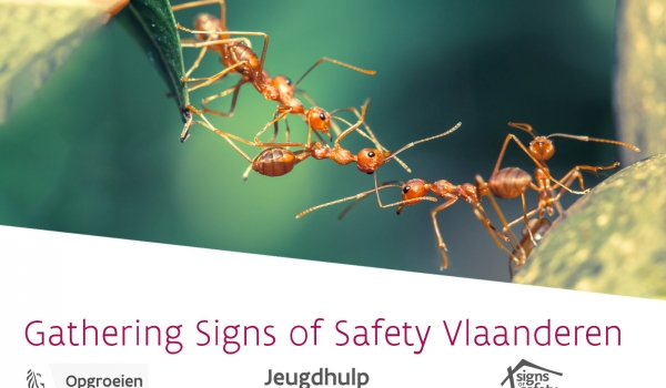 uitnodiging eerste Gathering Signs of Safety